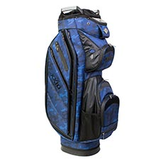 XXIO Camouflage Cart Bag,Blue Camouflage